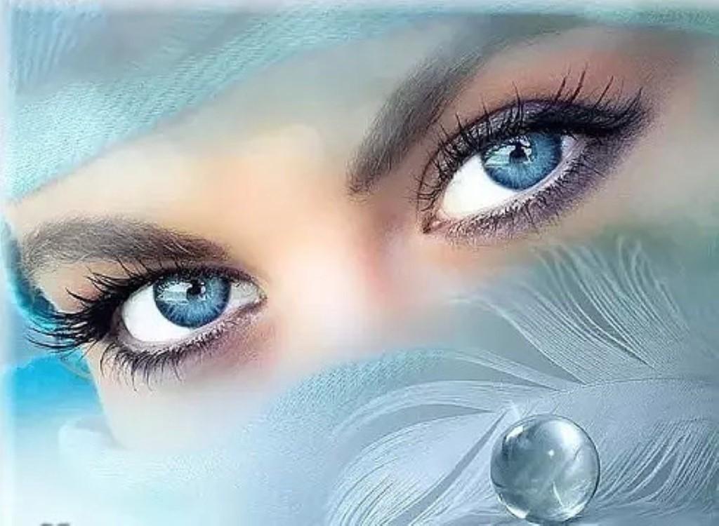 Картинка мои любимые глаза
