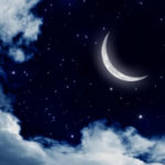 на убывающей луне