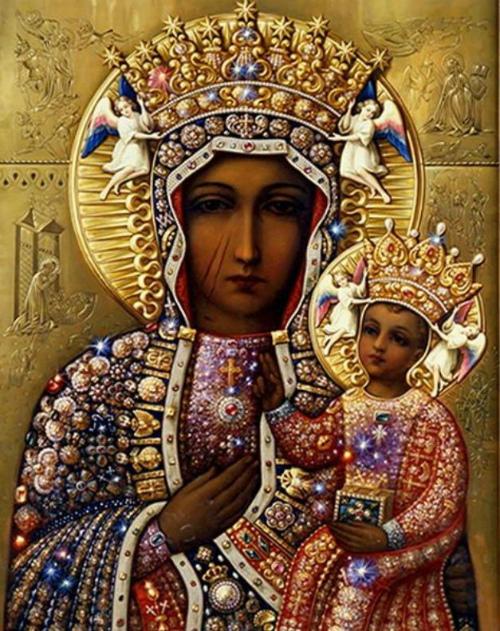 Молитва Ченстоховской иконе Божьей Матери