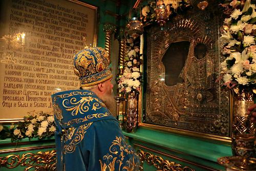 Молитва иконе Божьей Матери «Чимеевская»