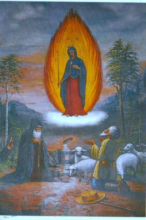 Молитва иконе Божьей Матери «Цельбоносная стопа»