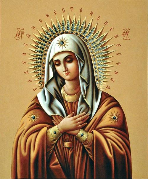 Сон Пресвятой Богородицы на декабрь