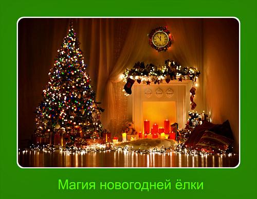 Магия новогодней ёлки