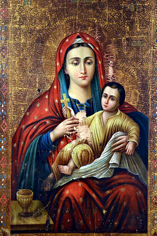 Молитвы Пресвятой Богородице на каждый день